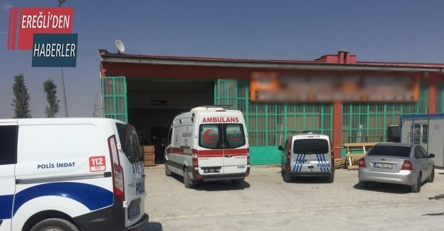 Konya'da 55 yaşındaki işçi iş yerindeki yatağında ölü bulundu