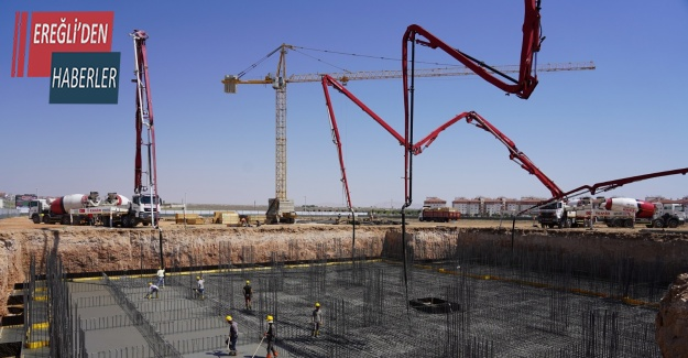 Konya'da sporcu yetiştirme merkezinin inşaat çalışmaları başladı
