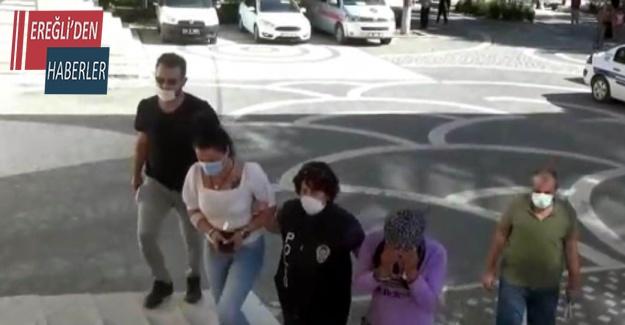 Konya'da uyuşturucu operasyonu 6 kişi tutuklandı