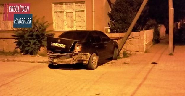 Kulu'da trafik kazası ucuz atlatıldı