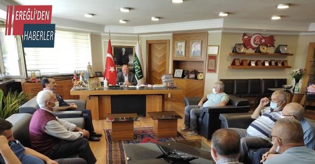 Muhtarlardan Başkan Oprukçu'ya teşekkür