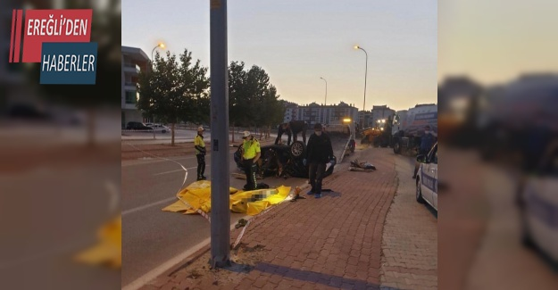 Otomobil takla attı: 3 ölü, 1 yaralı