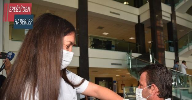 Selçuklu'da aşı çalışmaları sürüyor