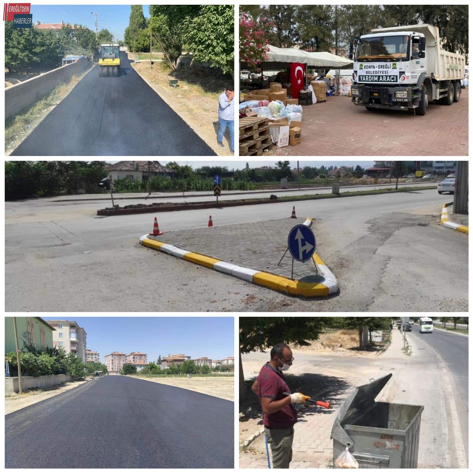 Sıcak asfalt, kavşak düzenlemesi, yardım....