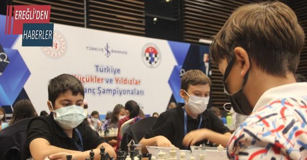 2021 Türkiye Küçükler ve Yıldızlar Satranç Şampiyonası Konya'da yapıldı
