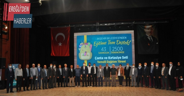 Akşehir Belediyesi eğitime desteğini sürdürüyor
