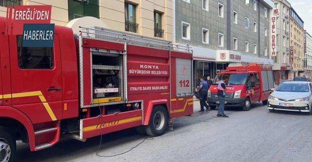 Bakım yaparken çıkan yangında asansörde sıkışan 2 kişi hayatını kaybetti