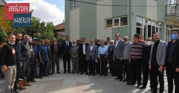 Başkan Akkaya, Milletvekili Erdem ile birlikte vatandaşlarla bir araya geldi