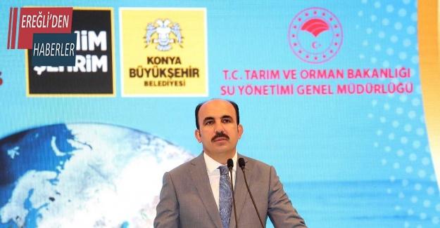 """Başkan Altay: """"Tarımı sürekli kılmanın tek yolu suyun kontrollü kullanılmasıdır"""""""