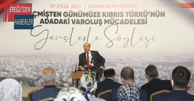 """KKTC Cumhurbaşkanı Tatar: """"Hiçbir zaman Rumların boyunduruğu altına girmeyiz"""""""