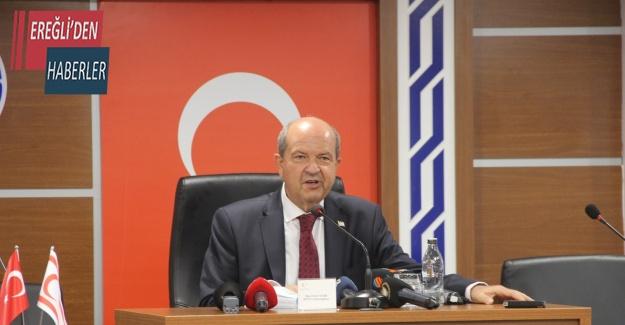 """KKTC Cumhurbaşkanı Tatar: """"Maraş'ın açılmasıyla KKTC ivme kazanmıştır"""""""