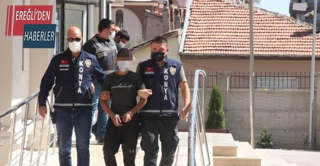 Konya'da 1 kişinin öldürüldüğü, 5 kişinin yaralandığı olayın şüphelileri adliyede
