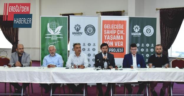 """Konya'da """"""""Bağımlılıkla Mücadelede Basının Rolü"""" adlı söyleşi düzenlendi"""