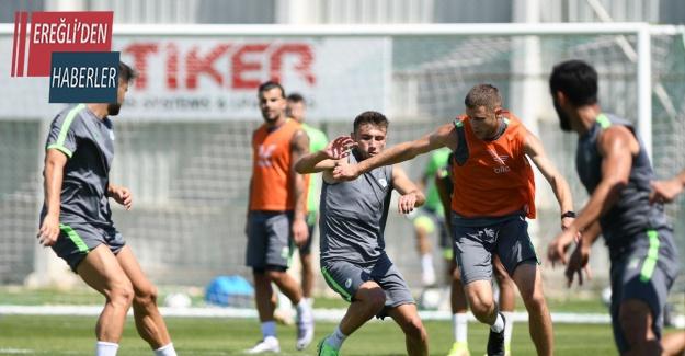 Konyaspor'da Altay maçı hazırlıkları devam ediyor