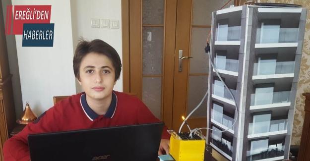 Meram Bilim Kurdu öğrencisi TÜBİTAK yarışmasında 1. Oldu