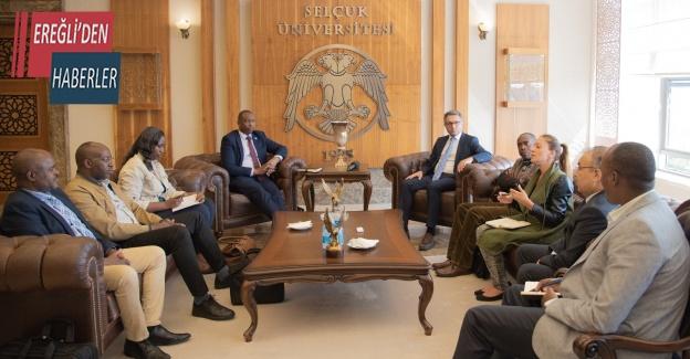 Selçuk Üniversitesi, Ruanda heyetini ağırladı
