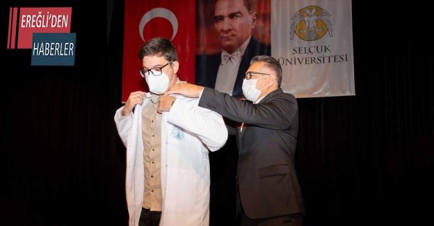 Selçuk Üniversitesi Tıp Fakültesinde beyaz önlük heyecanı