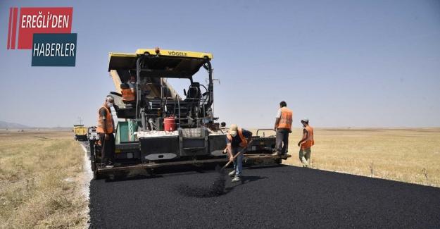 Selçuklu'da dış mahallelerde sıcak asfalt seferberliği