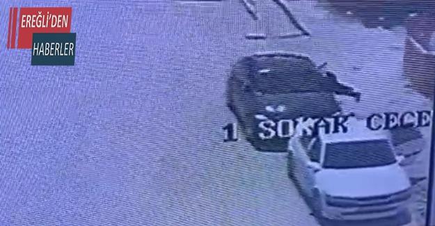 Takip ettikleri otomobilin camını kırıp 200 bin lirayı çaldılar