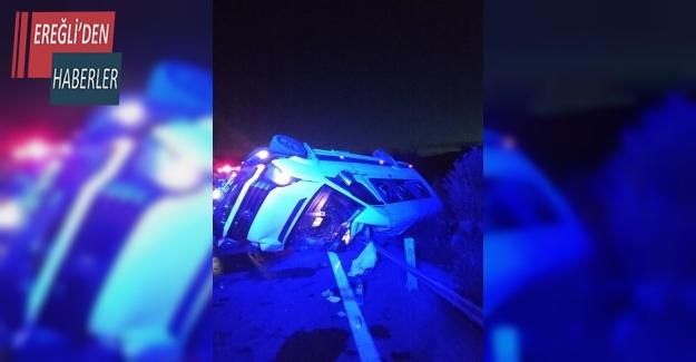 (Tekrar) Kız istemeye gidenleri taşıyan minibüs devrildi: 15 yaralı