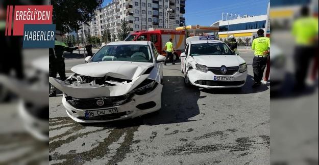 Ereğli'de kaza 4 yaralı