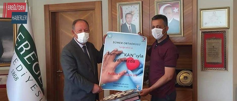Kan bağışı kampanyasına davet ettiler