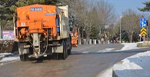 Ereğli Belediyesinden karla mücadele