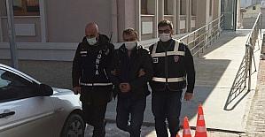 Konya'da karı kocayı öldüren zanlı adliyede