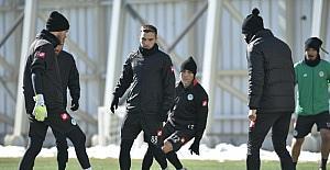 Konyaspor'da Antalyaspor maçı hazırlıkları başladı