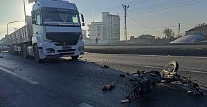 İlk iş gününde işe giderken kazada...