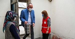 Meram Belediyesi ve Türk Kızılay Meram gönüllere dokunuyor