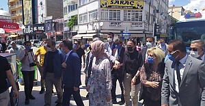Babacan Ereğli'deydi..