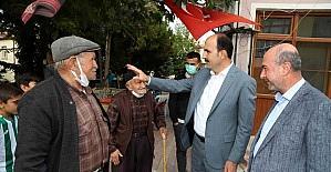 Başkan Altay ve Başkan Pekyatırmacı'dan mahalle ve esnaf ziyareti