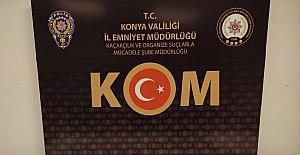 Konya polisinden tarihi eser operasyonu