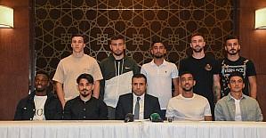 Konyaspor'un yeni transferleri tanıtıldı