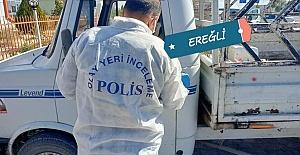 Ereğli'de araç hırsızlığı..