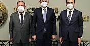 Başkanlar Bakan Kurumla Görüştü